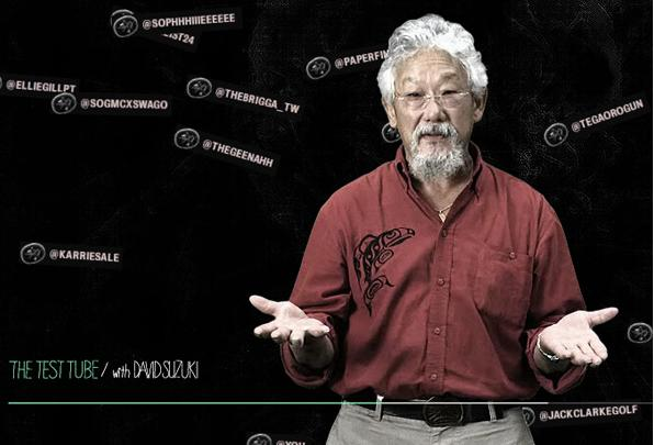 Scientist David Suzuki Says Exponential Economic Growth Is Suicidal