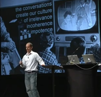 The Tragedy Of Our Times Defined By Anthropologist Michael Wesch [PopTech Video]