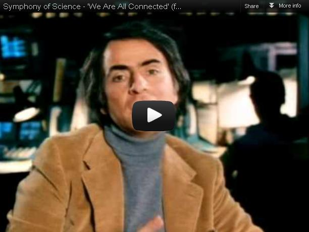 We Are All Connected – Carl Sagan, Richard Feynman, Neil deGrasse Tyson & Bill Nye 'Symphony Of Science' Song