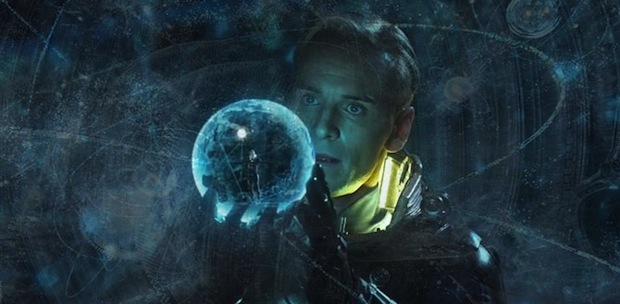 The Movie Prometheus Meets Hurricane Sandy